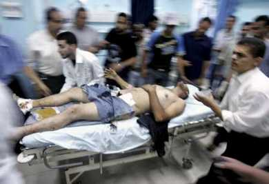 Palestine air attack June 302007