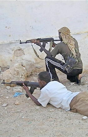 Somalia fighters