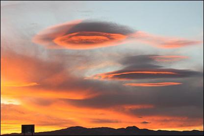 Clouds near WinnemuccaNV