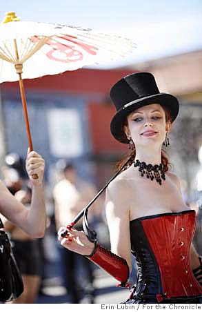 Mistress Liliane, Folsom St Fair, 2007 Chronicle photo